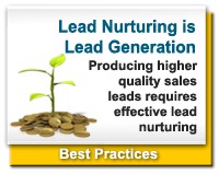 Lead Nurturing is Lead Generation