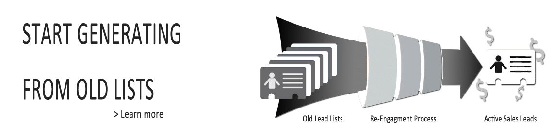 Generating New Leads from Old Lists
